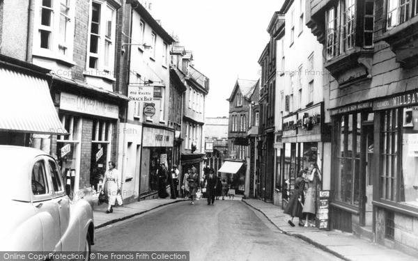 Photo of Launceston, High Street c.1960