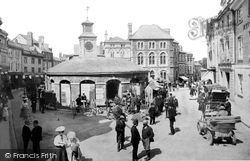 Launceston, Market 1906
