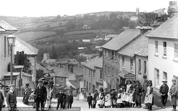 Launceston,the Old Mill 1893,Cornwall