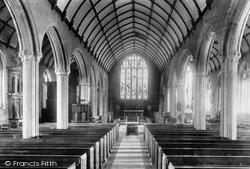 Launceston, Parish Church, Interior 1899