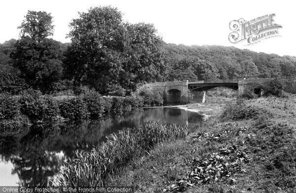 Photo of Launceston, Polson Bridge, River Tamar 1911