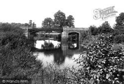 Polson Bridge, River Tamar 1911, Launceston