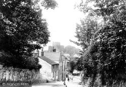 Launceston, Southgate And Castle 1893