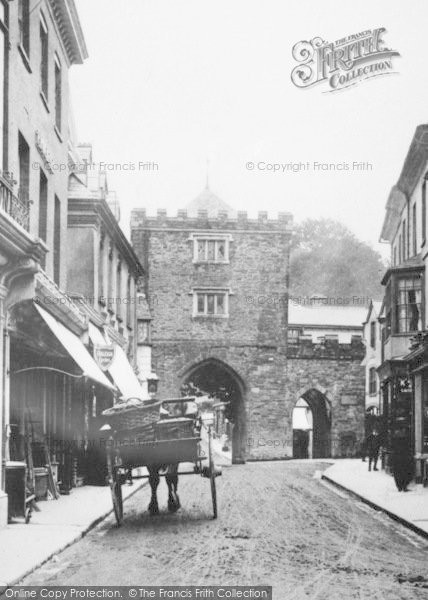 Photo of Launceston, Southgate Arch 1906