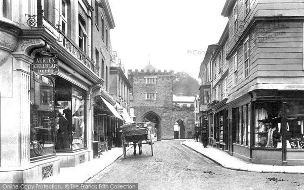 Photo of Launceston, Southgate Street 1906