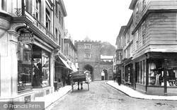 Launceston, Southgate Street 1906