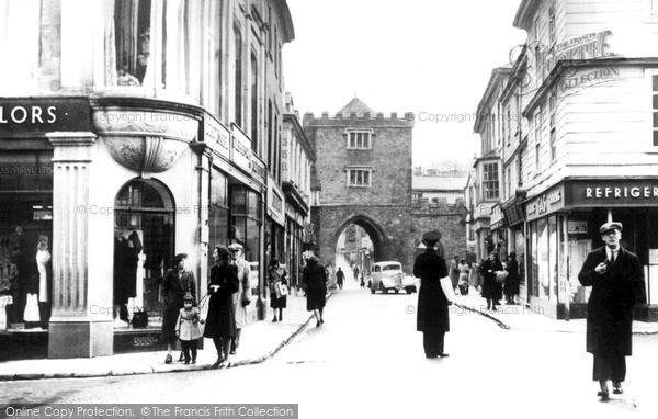 Photo of Launceston, Southgate Street 1949