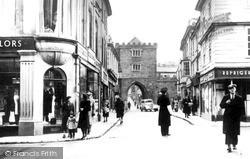 Launceston, Southgate Street 1949