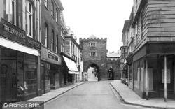 Launceston, Southgate Street c.1955
