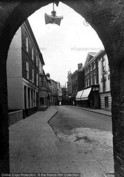 Photo of Launceston, Southgate Street c.1955