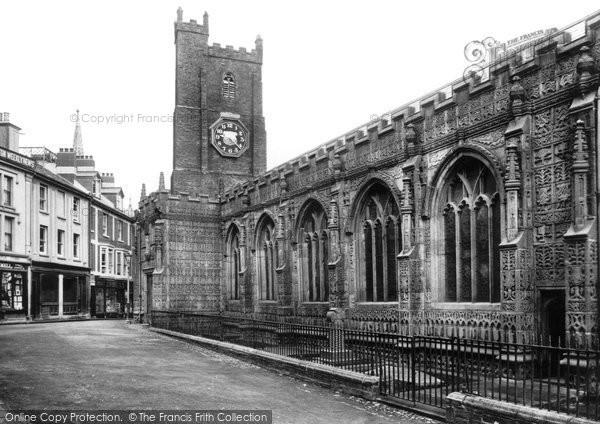 Photo of Launceston, St Mary Magdalene Church 1911