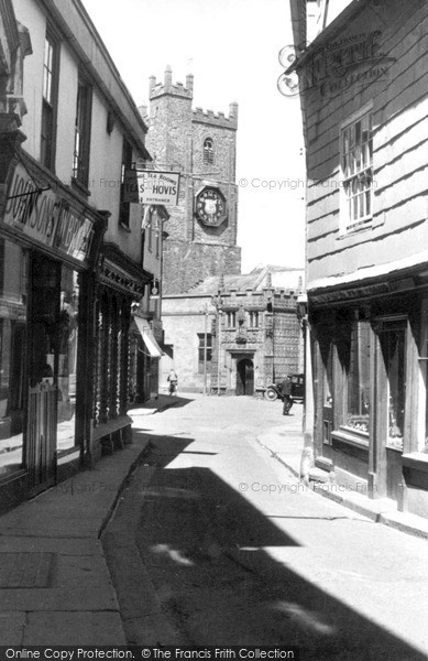 Photo of Launceston, St Mary Magdalene Church c.1949
