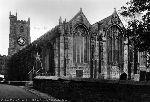 Photo of Launceston, St Mary Magdalene Church c.1955