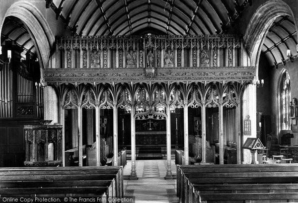 Photo of Launceston, St Mary Magdalene Church Interior 1911