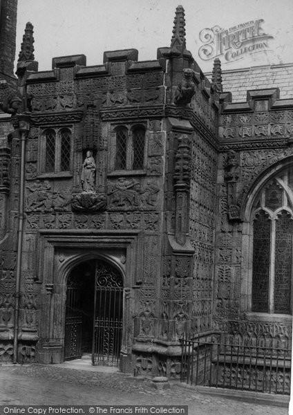 Photo of Launceston, St Mary Magdalene Church Porch 1911