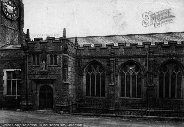 Photo of Launceston, St Mary Magdalene Church South Side 1911