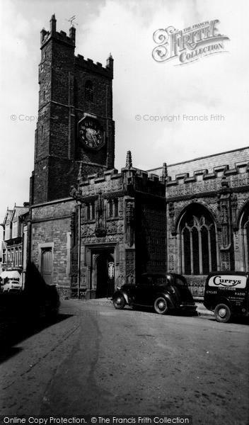 Photo of Launceston, St Mary's Church c.1960