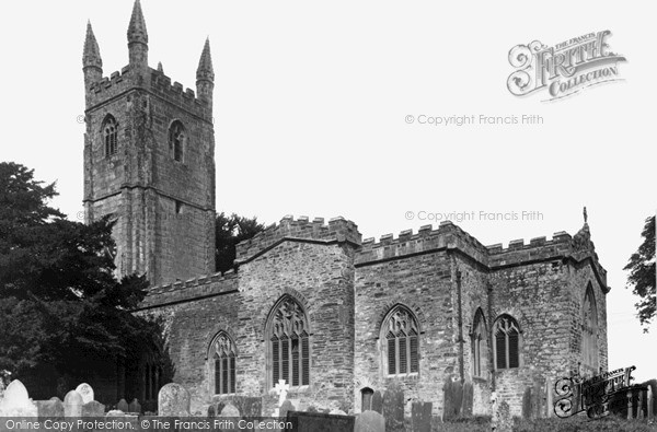 Photo of Launceston, St Stephens Church c.1955