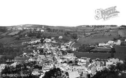 Launceston, St Stephens From The Castle 1890