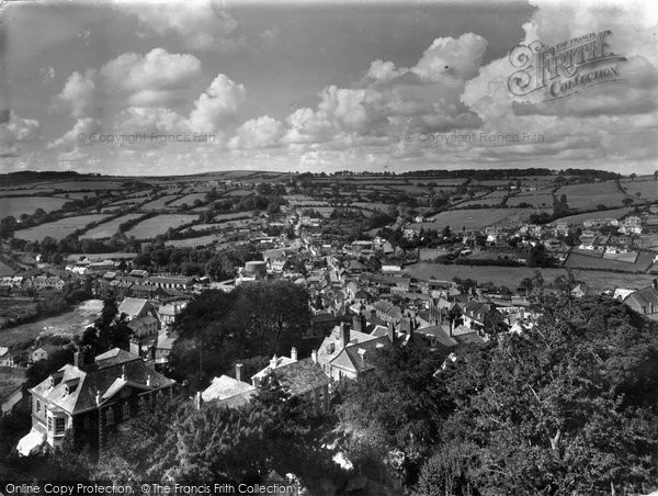 Photo of Launceston, St Stephens From The Castle 1935