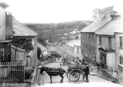 Launceston, St Thomas Hill 1906