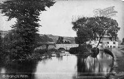 Launceston, St Thomas's Bridge c.1875