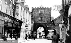 Launceston, The Arch c.1960