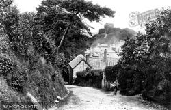 Launceston, The Castle 1893