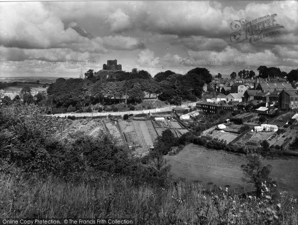 Photo of Launceston, The Castle And New Road 1935