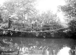 The Chain Bridge 1906, Launceston