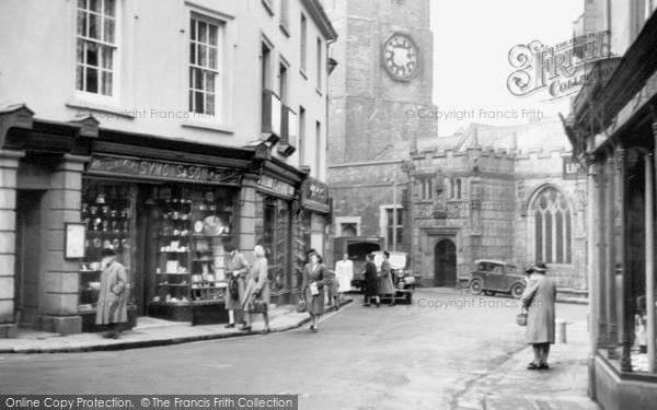 Photo of Launceston, The Church c.1949