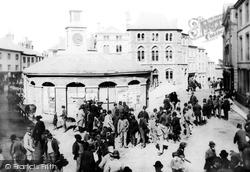 Launceston, The Square 1890