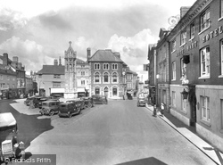 Launceston, The Square 1935