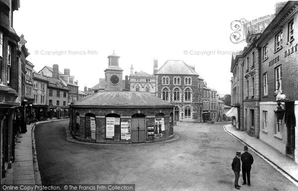 Photo of Launceston, The Square And Butter Market 1906