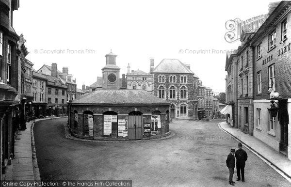 Launceston, The Square And Butter Market 1906