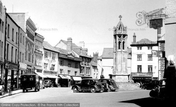 Photo of Launceston, The Square c.1949