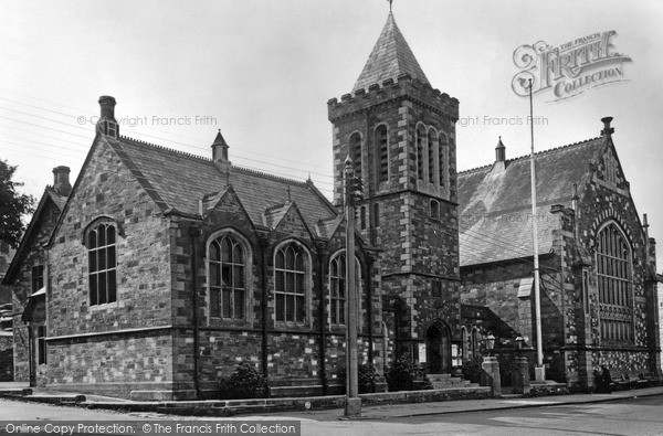 Photo of Launceston, The Town Hall c.1950