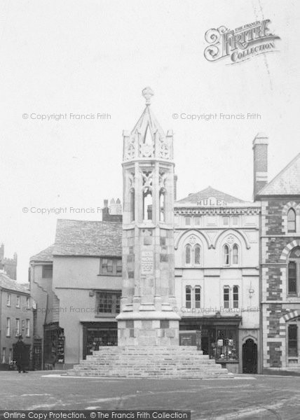 Photo of Launceston, War Memorial c.1922