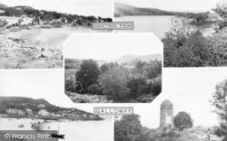 Greetings From Galloway Composite c.1955, Laurieston