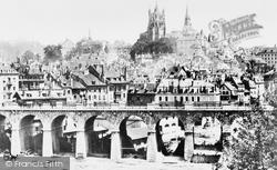 Lausanne, Grand Pont c.1874