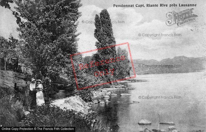 Photo of Lausanne, Pensionnat Capt, Riante Pres Lausanne c.1908