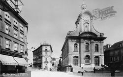 St Lawrence Church c.1884, Lausanne