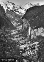 And Breithorn c.1930, Lauterbrunnen