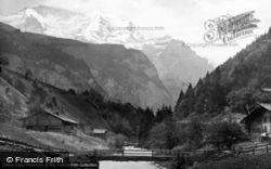 Lauterbrunnen, And The Jungfrau c.1879