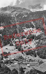 Murren Railway c.1930, Lauterbrunnen