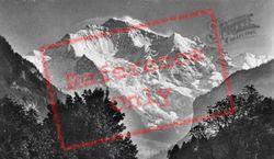 The Jungfrau c.1930, Lauterbrunnen