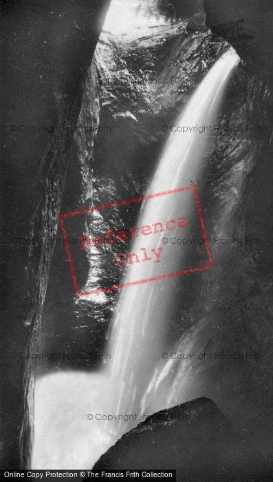Photo of Lauterbrunnen, Trummelbach, The 6th Fall c.1930