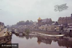 The Chateau From Across River Mayenne 1984, Laval