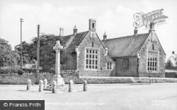 Lavendon, Memorial Corner c.1955