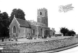 Lavendon, St Michael's Church c.1965